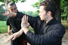 Applications de combat Wing Chun