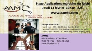Applications martiales du Taichi